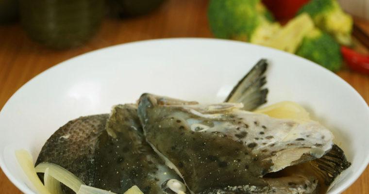 味噌鮭魚頭