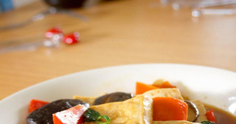 塔香豆腐煲