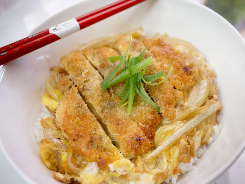 日式豬排蓋飯
