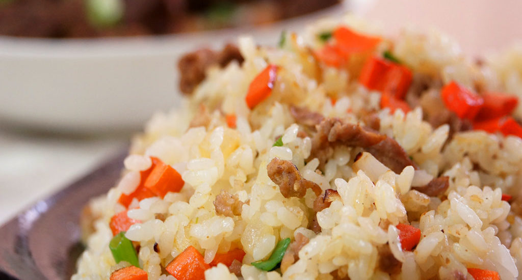 沙茶豬肉炒飯