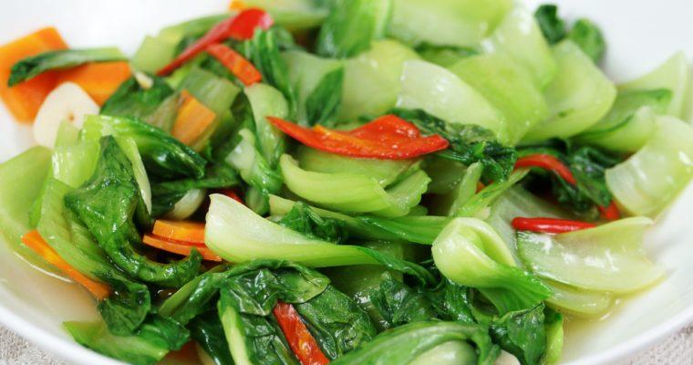 紅蘿蔔炒青江菜