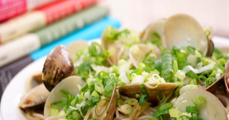 麻油蛤蠣麵線